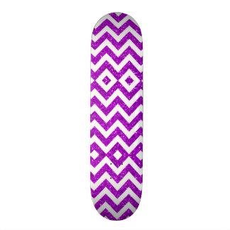 Urban Girl Nugget Purple Glitter Pro Park Board Skateboard Deck