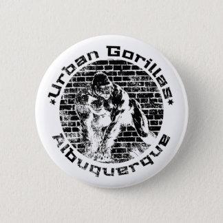Urban Gorillas Albuquerque 2 Inch Round Button