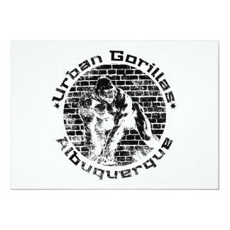 Urban Gorillas Albuquerque Card