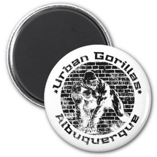 Urban Gorillas Albuquerque Magnet