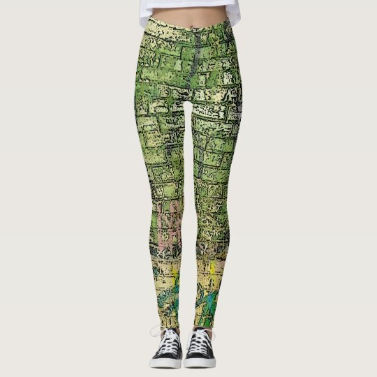 Urban Green Brick Leggings