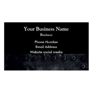 Urban grunge minimal abstract pattern on black pack of standard business cards
