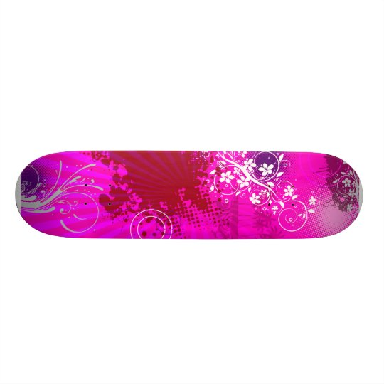 Urban Grunge Pink Skate Boards