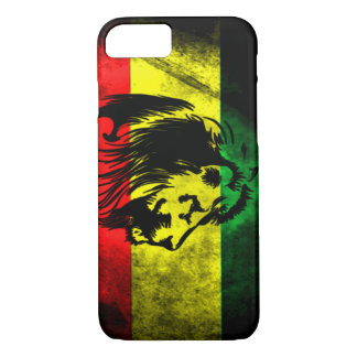 Urban Grunge Rasta Flag iPhone 7 Case
