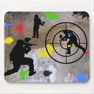 Urban Guerilla Paintball Mouse Pad