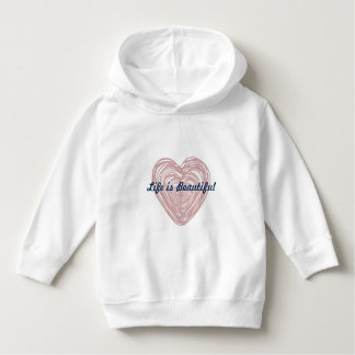 Urban Heart Hoodie for kids