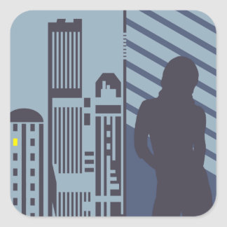 Urban Hermit 2 Stickers