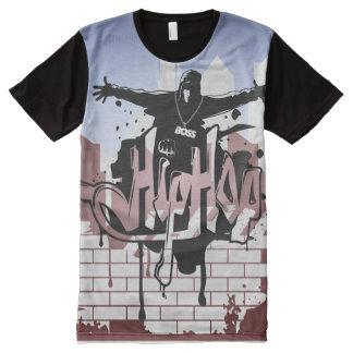 Urban Hip Hop Chaos All-Over-Print T-Shirt