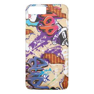 Urban Hip Hop Graffiti Wall. iPhone 7 Plus Case