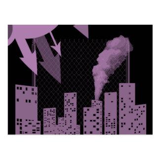 urban industrial postcard