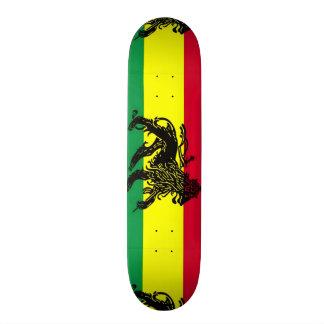 Urban Jamaica Lion Grunge Custom Pro Park Board Skateboard