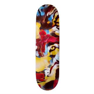 Urban Juggalo Wolf Custom Pro Banger Board Custom Skateboard