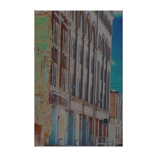 Urban Landscape in color Canvas Print