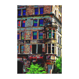 Urban Landscape in color II Canvas Prints