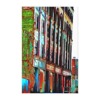 Urban Landscape in color III Canvas Print