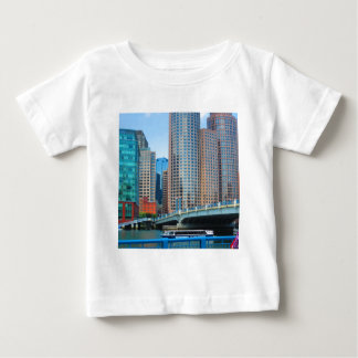 Urban Landscape Office Towers from Boston City USA Baby T-Shirt