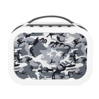 Urban Military Camouflage Lunch Boxes