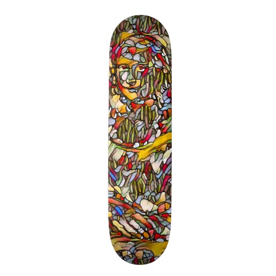 Urban Mona Lisa Artisan Element Pro Deck Skateboard Deck