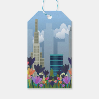 Urban nature pack of gift tags
