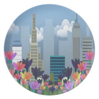 Urban nature plates
