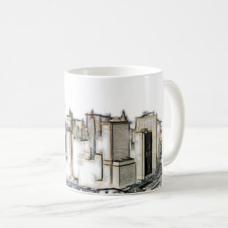 Urban New York Skyline Coffee Mug