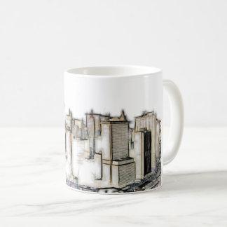 Urban New York Skyline Coffee Mug