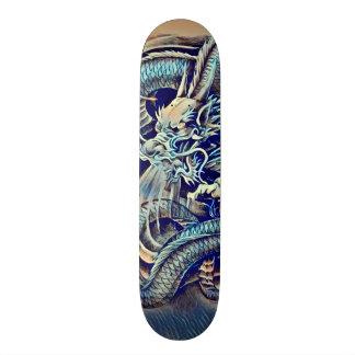Urban Ninja Chinese Dragon Pro Park Deck Skateboard Deck