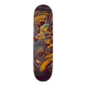 Urban Ninja Evil Dragon Element Custom Pro Board Skateboard