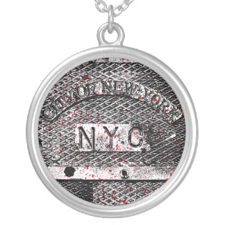 Urban NYC Silver Plated Necklace