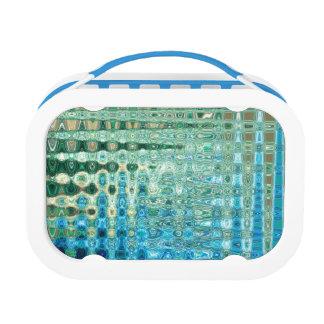 Urban Oasis Blue Handled Yubo Lunch Box