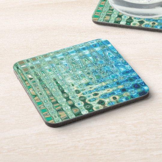 Urban Oasis Hard Plastic Coasters Set (6)