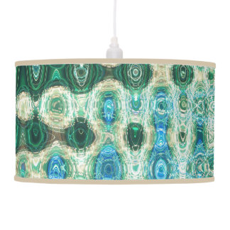 Urban Oasis Pendant Lamp by Artist C.L. Brown