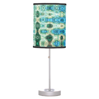 Urban Oasis Table Lamp by Artist C.L. Brown