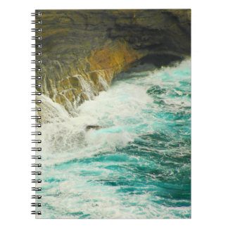 Urban Ocean Spiral Notebook