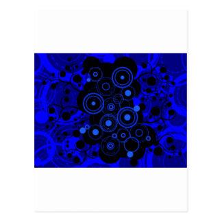 Urban of Blue-Black Postcard