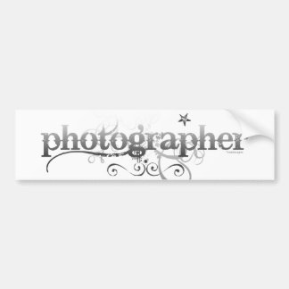 Urban Photographer Bumper Sticker
