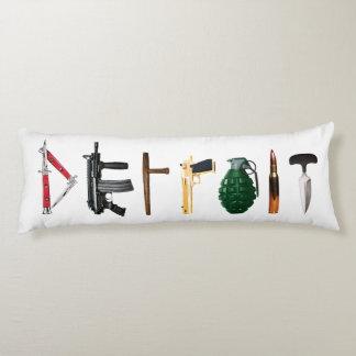 Urban Pillow Pop Art DETROIT
