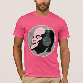 URBAN PINK LENIN WITH DJ HEADPHONES T-Shirt