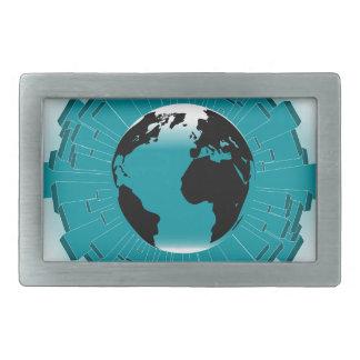 Urban Planet Earth Belt Buckles