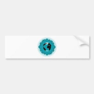 Urban Planet Earth Bumper Sticker