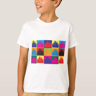 Urban Planning Pop Art T-Shirt