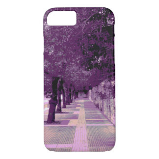 Urban purple picture phone case