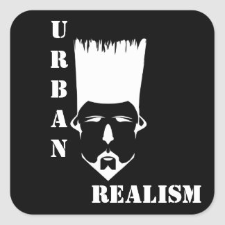 URBAN REALISM Square Stickers, Glossy Square Sticker