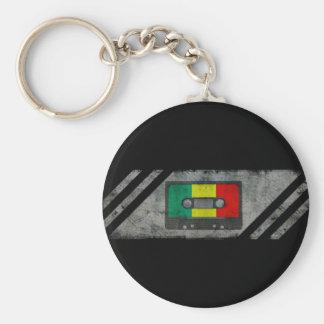 Urban reggae cassette keychain
