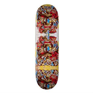 Urban Samurai Sketch Custom Pro Park Board Skateboard