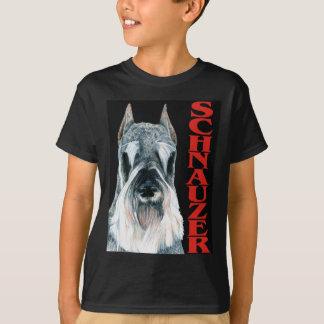 Urban Schnauzer Dog Design T-Shirt