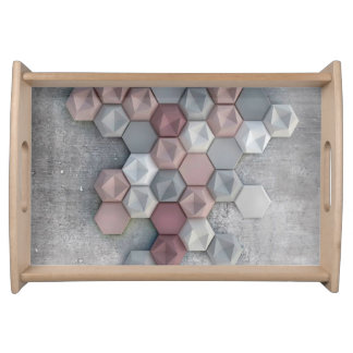 "Urban Serving Tray 14.5"" w x 10"" l x 2.125"" d"
