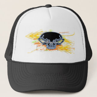 Urban Skull Trucker Hat