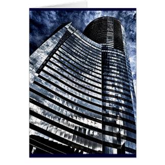 Urban Skyscraper Card