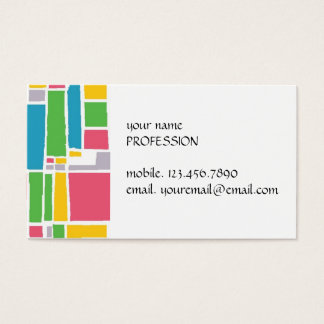 Urban Stained Glass Business Card